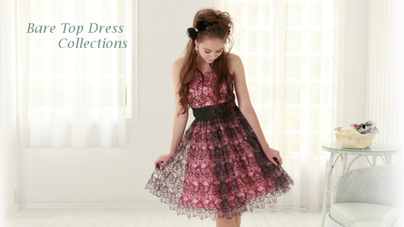 ベアドレス(Bare Top Dress Collection)