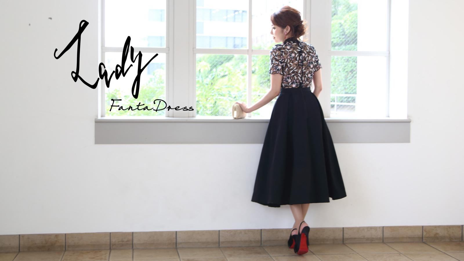 ミディ丈 大人ドレスコレクション(Lady FantaDress)