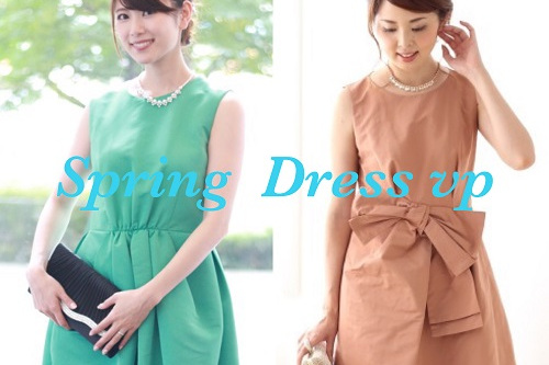 3月のドレスは春の風を運ぶ大人パステルで