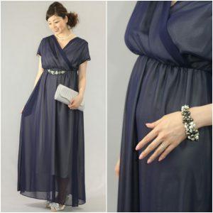 cb2134b1f2898 リーラはもちろん妊娠初期から着られるドレスですが、お腹がしっかりでてきた臨月期こそ着て頂きたい一着です。FantaDress×「Kaene」の共同開発ブランド「Fabulous  ...